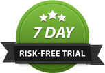 7 Day Risk-Free Trial Seal